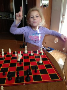 And now I am loosing to her in chess