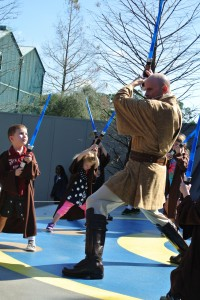 Jedi Training Learning