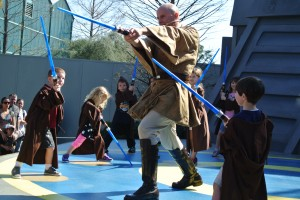 Jedi Training Pratice