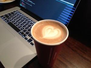 Aww, I love you too, coffee.