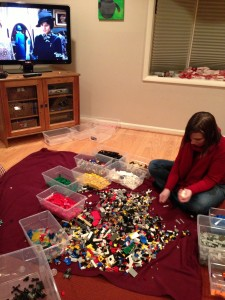 How to make Downton Abby exciting #lego