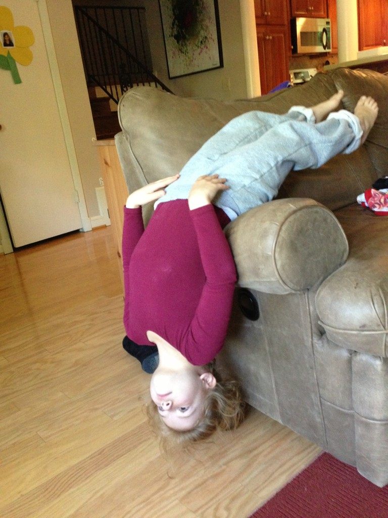 Reverse planking?