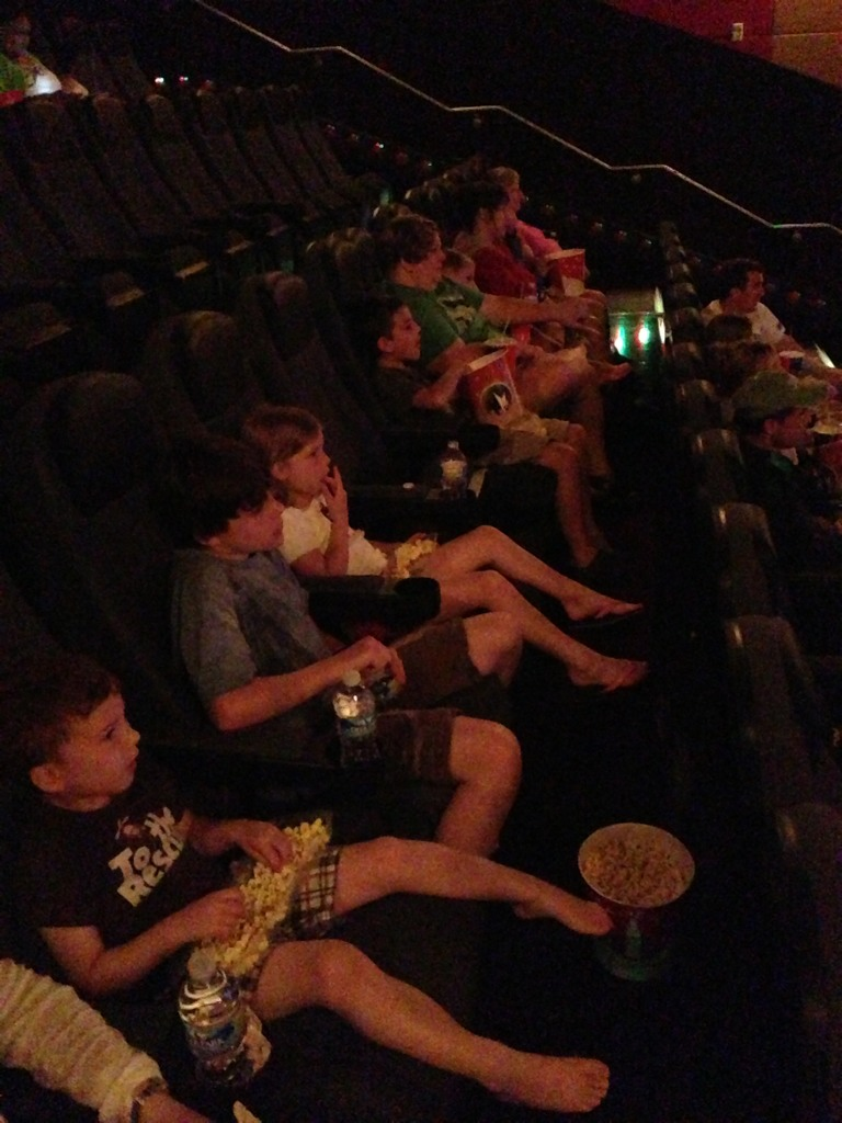 First summer movie with the entire...